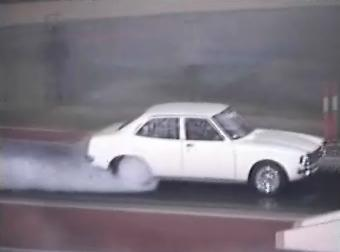 Buckley St LA Lancer Drag car in Action!